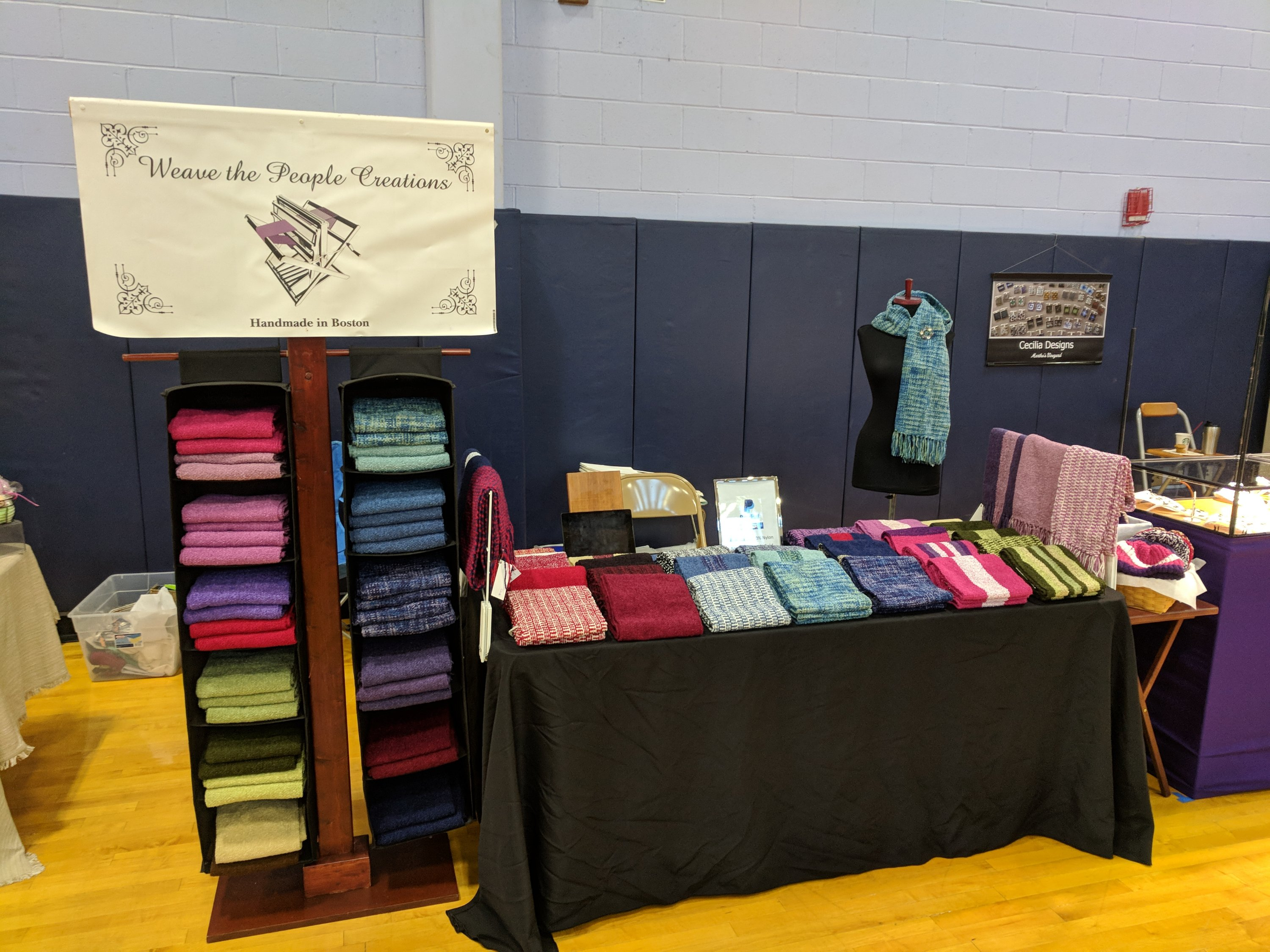 Weave the people creations handmade in boston by kari breed for Needham high school craft fair